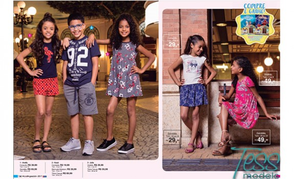 tess models kids