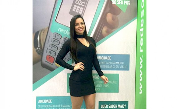 Tess Models | Recepcionista | Evento | Expo Protecao 2018